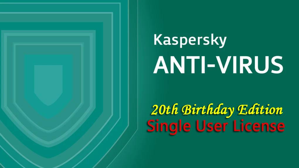 Kaspersky Free Antivirus for 1 PC